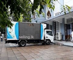 MOBILE LED TRUCK available for promotions