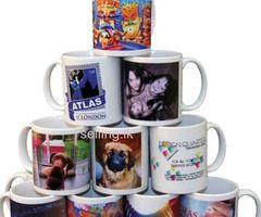 Ceramics Mugs and T-Shirts Printing