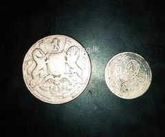 Antique coins east India company and Nizam coin