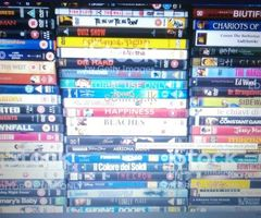 DVD's  over for sale