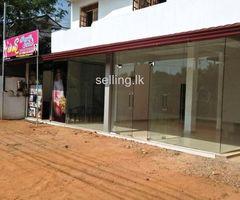 කඩ කාමරයක් කුලියට දීමට තිබේ - Commercial space for rent