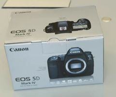 Canon EOS-5D Mark IV DSLR Camera Kit with Canon EF 24-70mm F4L IS USM Lens