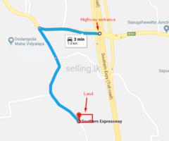 Land for sale in Dodangoda