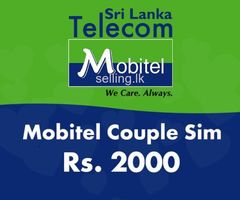 Mobitel Couple Sim Offer