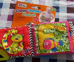 Baby chewy teething playbooks for sale