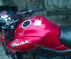 Hero hunk bike for sale
