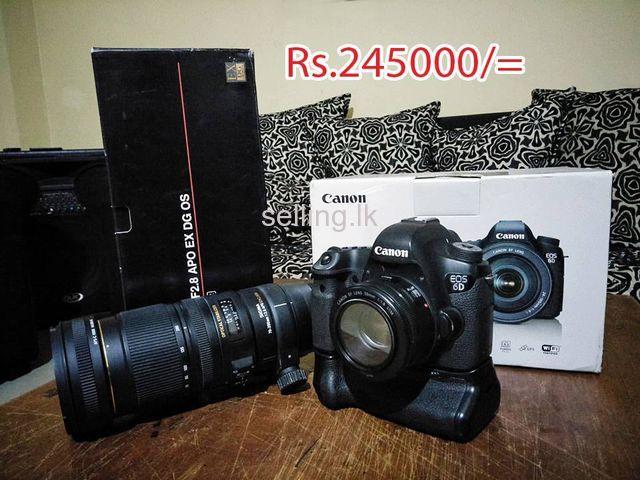Canon 6D camera body for sale