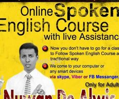 Online Spoken English Live Course