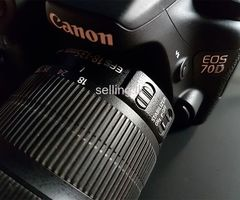 Canon 70D with 18-135mm Kit Lens