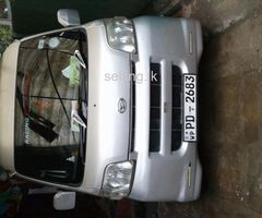 Daihatsu van for urgent sale