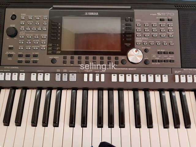 yamaha psr s970 keyboard for sale wattala. Black Bedroom Furniture Sets. Home Design Ideas