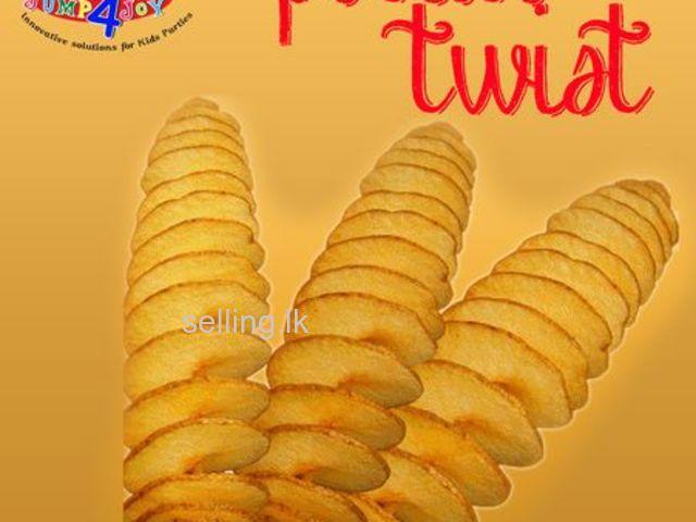 POTATO TWIST CARNIVAL FOOD