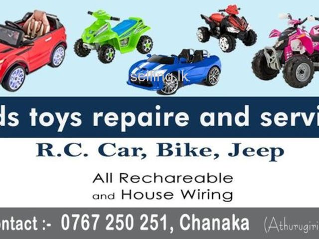 Kids Toys Repaire And Service
