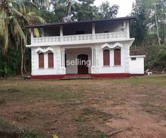 Galle Land with beautiful antique house