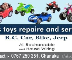 Toy Rechareable Repaire