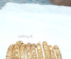 Gold covering jewellery