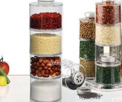 12pcs Tower Model Spice Rack