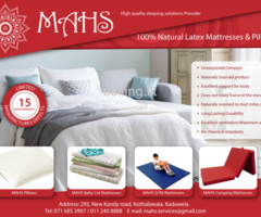 Mattress Pillows linen for sale