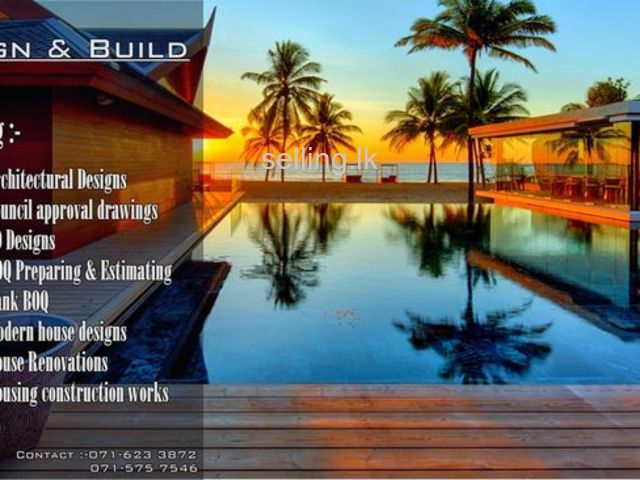 Design & Build- Building Plans & B.O.Q