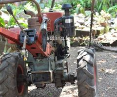 Tractor >>>C fan has power 12 land master tractor