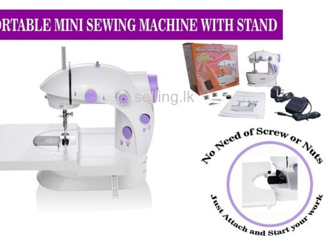 MINI SEWING MACHINE WITH STAND FOR SALE