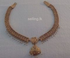 kandyan bride jewellery set