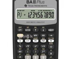 Texas BA II Plus™ Financial Calculator