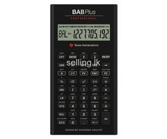 Texas BA II Plus™ Professional Financial Calculator