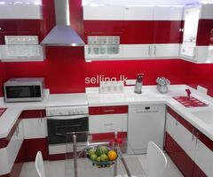 Colorful Kitchen Pantry Cupboards SriLanka by EVER TRUST Interior