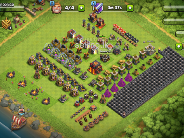 Coc townhall 10 max