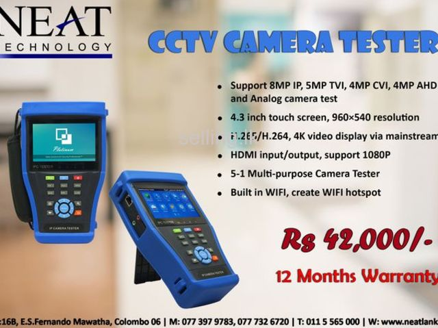 Electronics Tester Jobs : Cctv camera tester colombo selling lk cars