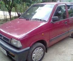 Maruti, 800 CC Car For Sale