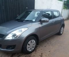 Suzuki Swift VXi 2013 Brand new import. Single owner done only 44000Kms