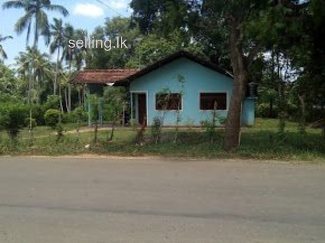 land and house in Tangalla