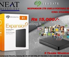 Seagate NEXPANSION 2TB USB 3.0 Portable Drive