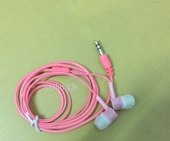 New pink earphones