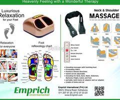 Emprich Electric Foot Massager/Neck and Shoulder Massager/Water Filter Jug