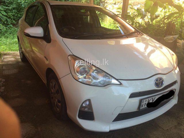Toyota Aqua Car For Sale Nugegoda Selling Lk In Sri Lanka