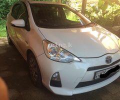 Toyota Aqua car for sale