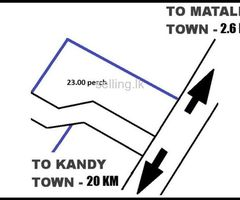 LAND FOR SALE FACING KANDY-JAFFNA ROAD,MATALE