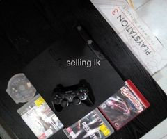 Ps3 original (with 4 games)