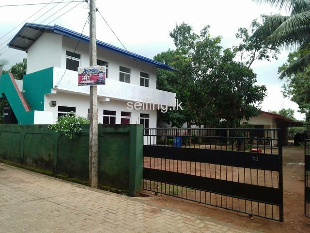 House and bilding for sale