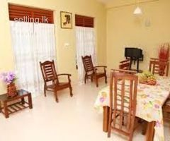 fully furniture luxury room for rent in mount lavinia