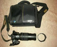Nikon D5300 with Nikkor 18-140mm VR Lens