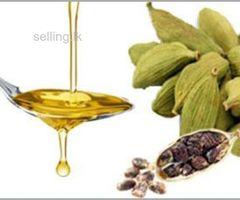 Cardamom Oil (සුපිරිසිදු එනසාල් තෙල්)