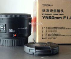 Yongnuo YN 50mm f/1.8 Lens