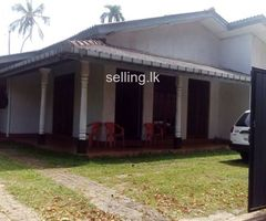 Land for sale with house in piliyandala