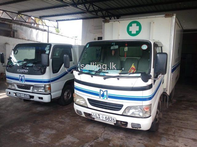 Lorry for sale : Toyota Diana  and Isuzu