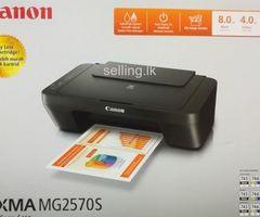 Canon PIXMA MG2570S 3in1 Color Printer