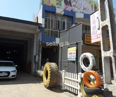 Commercial buildings in Embilipitiya